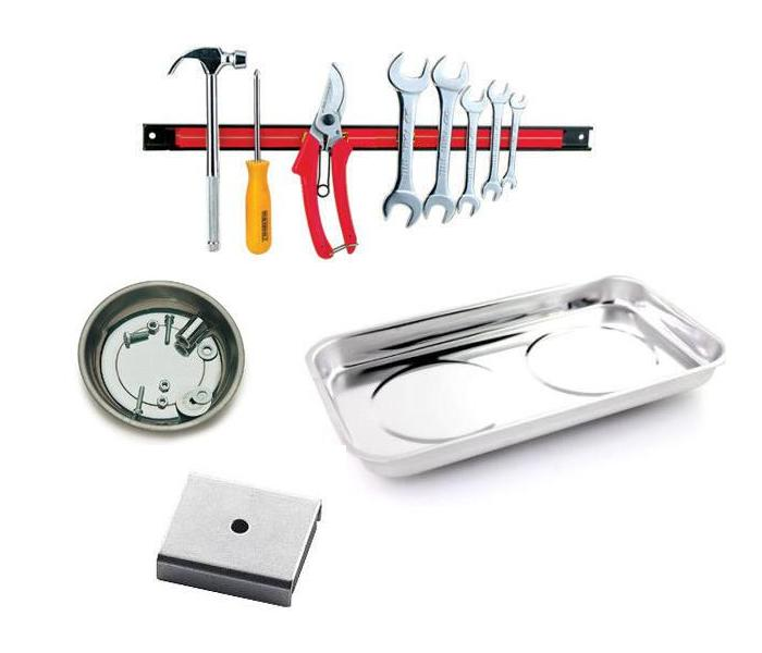 Working With Magnetic Holding and Catching Tools