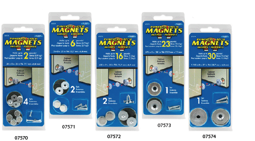 Neodymium Latch Magnet Kits